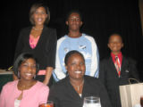 Tribute to Black Youth Luncheon for The Links Inc. Saturday, October 29, 2005 - Honorees seated...