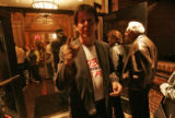 Professional Paul McCartney look-Alike, Mike Oltersdorf (cq), makes his way through a crowd at...