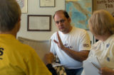 Dino Valente, chairman of South Westminster Organized for Responsible Development, talked with...