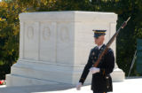 The Tomb of the Unknowns at Arlington National Cemetery in Arlington, Va. is guarded 24 hours a...