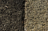(AURORA, Colo., Nov. 8, 2005) Pervious pavement is used to allow water to drain through the ground...