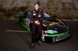 (MORRISON, Colo., Nov. 10, 2005) Rocky Mountain News race-car drivers of the year Bruce Yackey...