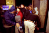 (AURORA., Colo., Nov. 26, 2005) Sears consumers rush through the  door as many venture out  in the...