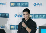 Denver, CO Nov. 15, 2005 George Oliphant (not pictured) and Jeremy Bloom announce that Vail...