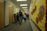 The hallways have been decorated for Thanksgiving at Castro Elementary School Wednesday, November...