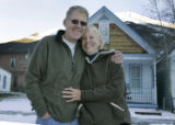 Everett Lyons, (cq) 62, and wife Margie Lyons, (cq) 57, who have retired to Silverton from Peoria,...