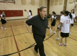 Marty Fletcher, a former men's basketball coach at the University of Denver and men's and women's...