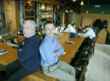Denver, CO Nov. 17, 2005 Jim McLoughlin (left) and his brother Frank are hoping to recreate the...