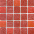 Hakatai tiles used by Christopher and Tina Herr, HGTV Dream House couple in Boulder, Colo. Crimson...