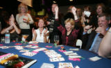 (Denver, Colo., November 11, 2005) Visible at the blackjack table are the victorious Libby Roper...