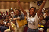 (DENVER, Colo., June 15, 2004)   Shanda Reifschneider and Joanne Flick, (l-r) organizers of...