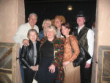 True Grit Fiesta benefiting Third Way Center Inc. - Front row, left to right, Anna Werner...