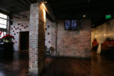 In Theorie Bar's the stairwell is no longer here after a major remodel from being the location of...