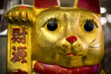 Large gold piggy banks at the Truong An giftshop  in the Far East Center, on Jan. 3, 2008. Eat!...
