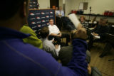 0171 Denver Broncos head coach Mike Shanahan address the media about the 2007 season and what the...