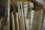 "Stretched and rolled paintings by Clyfford Still are stored in a warehouse on the the ""east..."