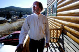 COBOU101 - Bob Dougherty is shown in Nederland, Colo., Tuesday, Nov. 8, 2005. Dougherty,  who's...