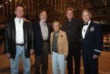 (Denver, Colo., October 22, 2005) Jeff Potter (second from right), CEO and president of Frontier...