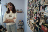 Wendy Cohen (cq)  standsin a bedroom in her house in Ft. Collins that is dedicated to her...