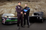 (MORRISON, Colo., Nov. 10, 2005) Rocky Mountain News race-car drivers of the year (lt-rt) Bruce...