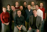 The 2005 Rocky Mountain News Web Team  (back row) Amy Burke, Caleb Kropf, Ander Murane, Ivo...