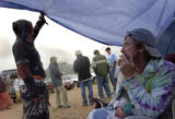 (MORRISON, Colorado... June 15, 2004) Deadheads, Veronica Engh, from Mo. and Mike of Louisanna,...