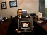 Denver, Colo., photo taken June 2, 2004 (IN MY OFFICE)- Jeffrey M. Campos a partner at the New...