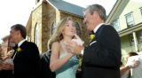 (Central City, Colo., June 25, 2005) Jennifer Jones dances with her father, Doug, during the...