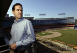 Paul DePodesta, 32, is remaking the Dodgers in his first off-season as general manager from Chavez...