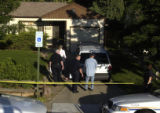 Aurora Police investigated a home at 1325 Lansing Street on Wednesday June 29,2005 after a...
