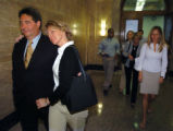 (DENVER, CO., JUNE 2, 2004)  Cherry Creek Money Manager, Will Hoover, left, and wife, Georgia Anne...