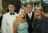 (Central City, Colo., June 25, 2005) Parker family members, left to right: Chris, Kelly, Brad, and...