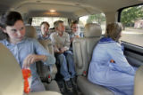 Polygamy in Hildale, Utah and Colorado City, Arizona on June 1, 2005.   Five of Richard Holm's 17...