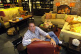 Ron Werner is photographed in one of his stores, HW Home, located at 1941 Pearl Street in Boulder,...