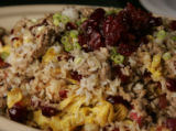 "Boston-based chef Ming Tsai's Sweet and Sour Pork Fried Rice after preparation at his ""Master..."