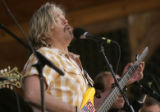 John Cowan plays at the 32nd Annual Telluride Bluegrass Festival in Telluride Colo., on Thursday,...