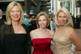 (Denver, Colo., June 11, 2005) Left to right:  event co-chairs Sandy Betker and Tricia Campbell...