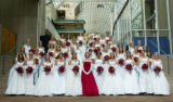 "(Denver, Colo., June 11, 2005) The debutantes pose for the formal picture.  ""Le Bal de..."