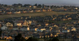 A view of Southeast Aurora where homes have grown into areas near E470 and Gartrell Road as the...