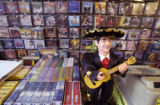 Discos Aquila de Oro on Federal Blvd. in Denver specializes in selling Spanish CDs and videos.   ...