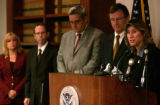 Marcy M. Forman,far right, Director of the Office of Investigations for the U.S. Immigration and...