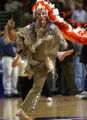 "NYET251 - ** FILE ** Chief Illiniwek, the mascot of the University of Illinois ""Fighting..."