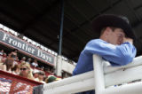 B.J. Schumacher (cq), from Wisconsin, is a bull rider who has been on the circuit ffor 9 years. ...