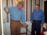 pictures of John Marsh and Wade Inman  Here are the two pictures I have of Dad and Wade Inman. The...