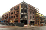 Cherry Creek, Colo. -June 18,2004- Clayton Street Condominiums on the corner of Clayton Street and...
