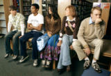 "Back to school fashion with an homage to ""The Breakfast Club"", on the 25th anniversary..."