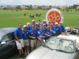 Denver Active 20-30 Denver Polo Classic 2005 committee members work at the 18th annual polo...