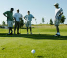 Westminster, CO July 11, 2005 Aaron Lopez and three others play four golf courses in four suburbs...