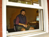 Dave Taylor, a Blogging guru, in his office, Intuitive Systems, at 1922 13th st. in Boulder Monday...