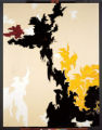 "This work is titled ""Untitled (PH-118),"" 1947, oil on canvas by Still.  The Clyfford..."